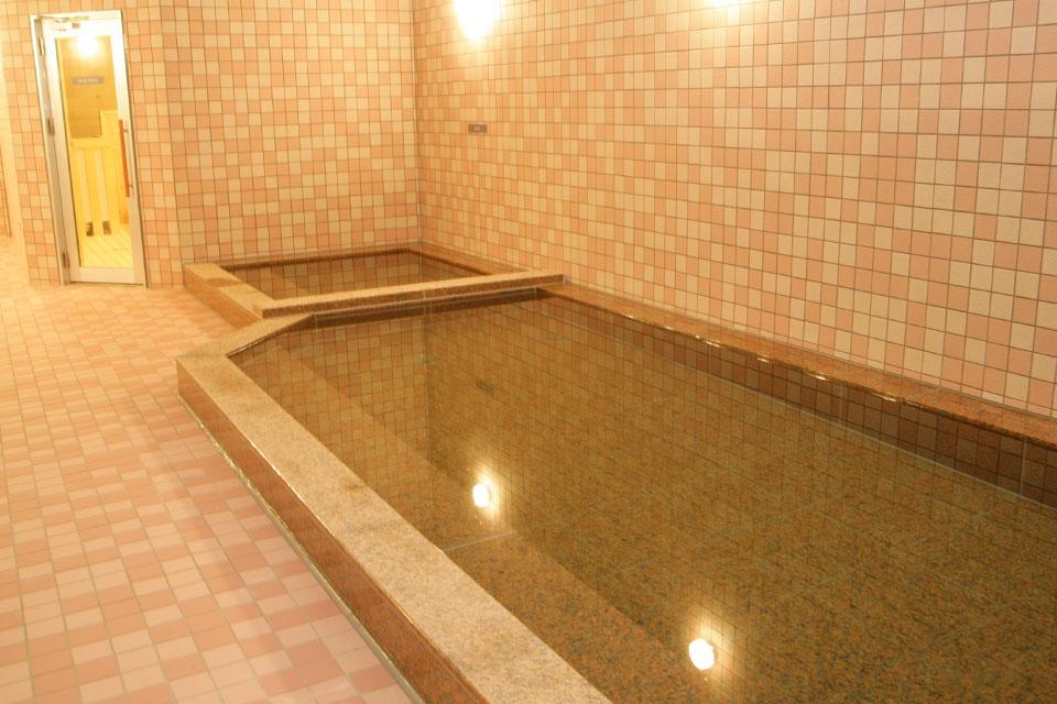 炭酸風呂(準天然温泉)